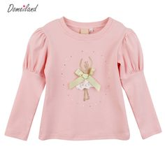 2017 spring fashion brand Domeiland lace children clothing for cute kids girls Ballet cotton ruffle bottoming Princess T shirt Kids Dress Wear, Baby Dress, Latest Fashion Clothes, Kids Fashion, Kids Blouse Designs, Spring Fashion 2017, Girl Sleeves, Ballet Girls, Looks Chic