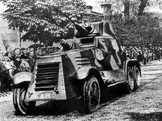 Lithuanian landsverk L-181 armoured car Army Vehicles, Armored Vehicles, Sweden, Interwar Period, Armoured Personnel Carrier, Lithuania, World War Ii, Ww2, Monster Trucks