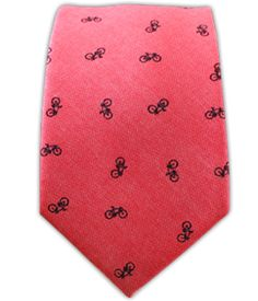 Bicycle Chambray - Red (Cotton Skinny) | Ties, Bow Ties, and Pocket Squares | The Tie Bar