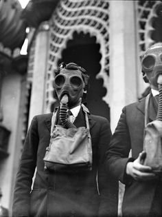 Gas mask demo Brighton And Hove, Kurt Cobain, World War Ii, Ww2, Sunglasses, Image, Style, Fashion, World War Two
