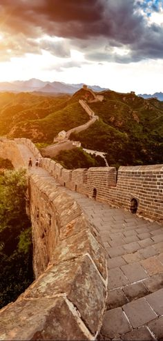 No visit to China would be complete without visiting the Great Wall.