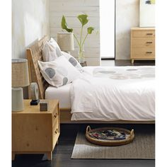 Varick King Bed in Beds & Headboards | Crate and Barrel