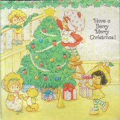 Strawberry Shortcake Vintage ❤ Christmas Orange Blossom, Butter Cookie and Apple Dumplin