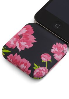 You're in Charge iPhone Battery Pack in Blossoms, #ModCloth  @Carole Berard I think I like this case better...