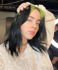 You like gay shit with Billie.read the shit. Cover by: You like gay shit with Billie.read the shit. Cover by: Fanfiction Billie Eilish, Pretty People, Beautiful People, Jimmy Kimmel Live, Ed Sheeran, Her Music, Green Hair, Celebs, Celebrities