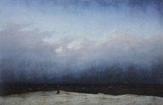 "Caspar David Friedrich , ""Monk by the Sea"""