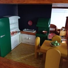 """35 Likes, 4 Comments - Alison Agnew (@alison.t.agnew) on Instagram: """"The Modern Rustic dollhouse is coming together. This one is a huge departure in color scheme and…"""""""