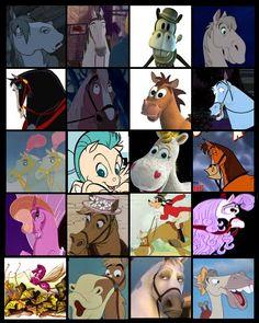 Pegasus, Bullseye, and Max are my favorites. Gotta love Disney horses.