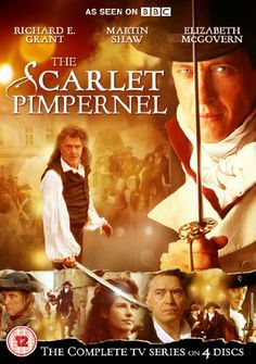 The Scarlet Pimpernel (TV Series ) -During the turmoil of the French Revolution, English aristocrat Percy Blakeney, often aided by his League of friends, secretly undertakes various daring missions as the Scarlet Pimpernel. Withnail And I, Martin Shaw, The Scarlet Pimpernel, Elizabeth Mcgovern, The Iron Lady, The Age Of Innocence, Bram Stoker's Dracula, Dvd Blu Ray, Period Dramas