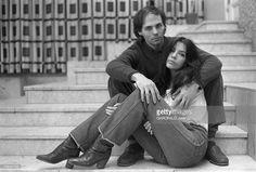 Rendezvous With Carole Laure And Lewis Furey. 14 mars 1979, la... Photo d'actualité   Getty Images