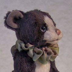 OOAK miniature teddy bear Wild Thyme Originals 2013