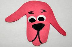 Traced-Hand Clifford - http://www.pbs.org/parents/crafts-for-kids/traced-hand-clifford/