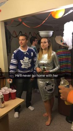 A joke only hockey fans will get Hockey Baby, Ice Hockey, Bruins Hockey, Hockey Room, Football Girls, Hockey Girls, Montreal Canadiens, Mlb Montreal, Stanley Cup Costume
