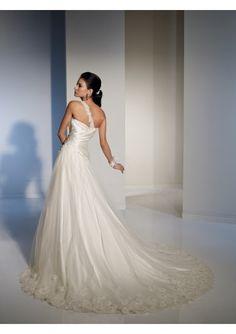 Wedding Dress-with beautiful back & shoulder detail