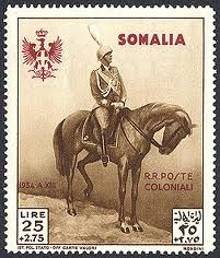 Italian colonial somali stamp.  More about stamps: http://sammler.com/stamps/