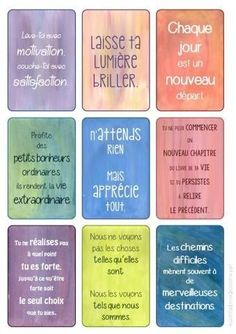 mes stickers: inspiration et motivation Positive Attitude, Positive Vibes, Message Positif, Material Didático, Miracle Morning, Bible Encouragement, Quote Citation, Happiness Project, French Quotes