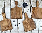 Mini French Bread Boards - Set of 4