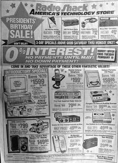 Everything in this 1991 ad is now in your smartphone.