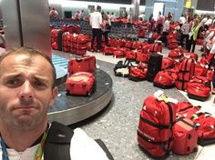 British Olympic Athletes All Have The Same Bag