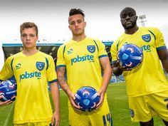 Nice Day Sports: New Yellow Portsmouth Third Kit 2014/15 by Sondico...