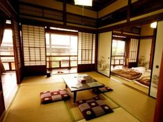 Traditional Japanese House | Whole floor of a traditional Japanese house  build in 1934, which