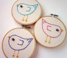Lova Revolutionary : Blog: DIY Tutorial : Framed Embroidery Hoops