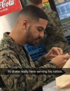 Yo drake really here serving his nation. Funny Images, Funny Pictures, Funny Jokes, Hilarious, Me Too Meme, Fishing Tips, My Hero Academia, Popular Memes, Drake