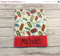 ON SALE Fun Superhero Sayings Personalized Pillowcase - Embroidered, Personalized, Monogram, Pillowcase, Children's Pillowcase, Superhero Sa by MaddyBelleBoutique on Etsy https://www.etsy.com/listing/210467391/on-sale-fun-superhero-sayings