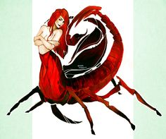Scorpion girl design by dark-tarou.deviantart.com on @DeviantArt