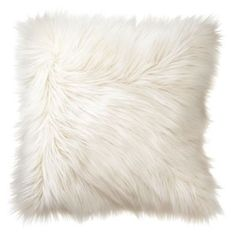 White Shag Pillow - Faux Fur cushion- White mongolian Decorative Pillow - Fur Pillow This cozy and fluffy super soft pillow gives you the comfort…