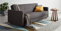 Chou Schlafsofa mit Stauraum, Cygnetgrau ► Neues Design für dein Wohnzimmer! Entdecke jetzt bequeme und schicke Sofas bei MADE.