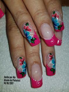 Perfect Nails, Gorgeous Nails, Pretty Nails, Coffin Nails, Acrylic Nails, Easter Nail Art, Hot Nails, Flower Nails, Spring Nails