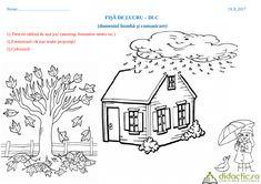 Easy Fall Crafts, Exterior Design, Preschool, Decor, Decoration, Kid Garden, Home Exterior Design, Kindergarten, Decorating