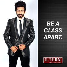 Instead of dressing like a rock star, go elegant every day!  Find your style at U TURN.