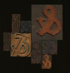 Wood Type Amperstands
