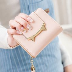 Cute Leather Coin Card Holder Bag