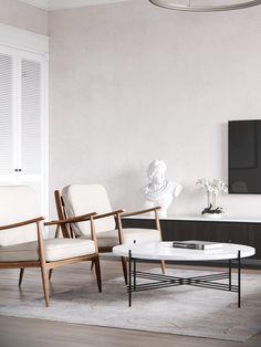 Interior design. Odessa, Ukraine. Apartment near the seashore | M3 architectural group | #white #interior #design #architecture #m3 #apartment