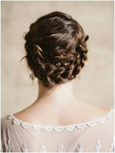 Perfectly styled bridal hair | Laura Gordon Photography