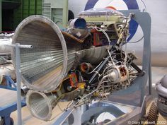 Stentor rocket engine - my favourite British rocket engine from the 1960's Blue Steel missile, powered by HTP and Kerosene