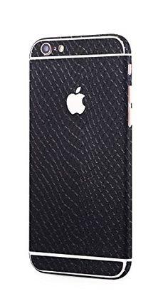 Apple iPhone 6s Plus, iPhone 6 Plus rundum Schutzfolie Sanke Skin Schlangenhaut Optik Glamour Sticker in schwarzvon PhoneStar #snake