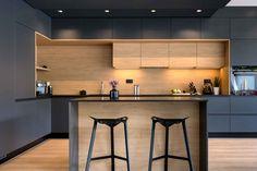 Kitchen Room Design, Kitchen Cabinet Design, Kitchen Sets, Dining Room Design, Interior Design Kitchen, Interior Modern, Layout Design, Küchen Design, House Design