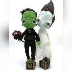 Needle felt sculpt by Samscuriouscreatures Creature 3d, 3d Illustrations, Frankenstein's Monster, Curious Creatures, Needle Felting, Art Dolls, Sculpting, Teddy Bear, Bride