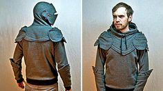 Fireflies and Jellybeans: Knight Hoodie Tutorial (Free Downloadable Patterns)