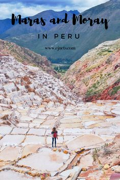 All about Maras and Moray of Peru on the blog. Travel tips and tricks for South America. www.ejnets.com #travelblog #travelblogger #peru #maras #moray #visitperu #southamerica #czechblogger