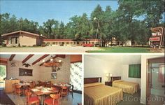 Indian Trail Motel And Restaurant Indian River Michigan