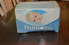 485 best vintage baby diapers and supplies images cloth diapers diapers disposable diapers - Couche pampers premature ...
