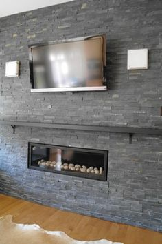 1000 images about fireplace on pinterest linear for Linear fireplace ideas