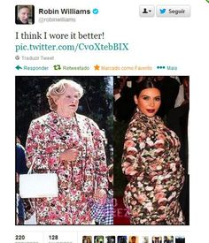 Haha, Robin Williams for the win!
