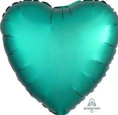 10x Blue Heart en forme d/'aluminium Film Foil Balloon Valentine/'s Balloon