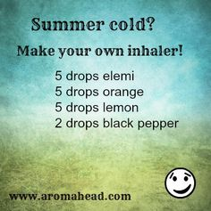 How To Protect Your Family from Colds and Flu Using Essential Oils Essential Oil Inhaler, Essential Oil Safety, Essential Oil Diffuser Blends, Doterra Essential Oils, Natural Essential Oils, Young Living Essential Oils, Yl Oils, Aromatherapy Recipes, Aromatherapy Oils